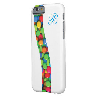 Monogram Candy Fun Barely There iPhone 6 Case