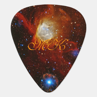 Monogram Celestial Bauble - SXP1062 space picture Guitar Pick