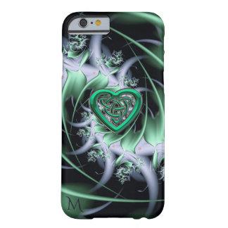 Monogram Celtic Knot Fractal Design iPhone 6 Case