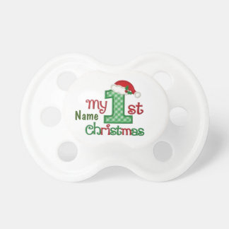 Monogram Christmas PACIFIER