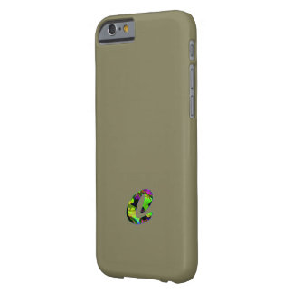 Monogram Cover Screen Protector for iPhones Barely There iPhone 6 Case