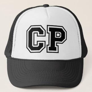 Monogram 'CP' initials Trucker Hat