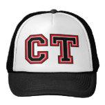 Monogram 'CT' initials Cap