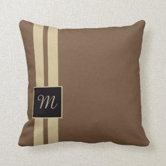 Monogram cushion