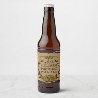 Monogram Custom Beer Labels
