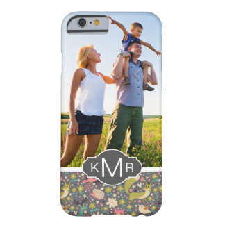 Monogram | Cute Forest Animals Pattern Barely There iPhone 6 Case