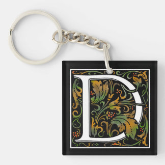 Monogram D Acrylic Key Chain