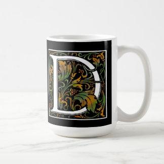 Monogram D Color Mug