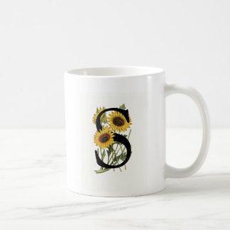 Monogram Daisy S Mug