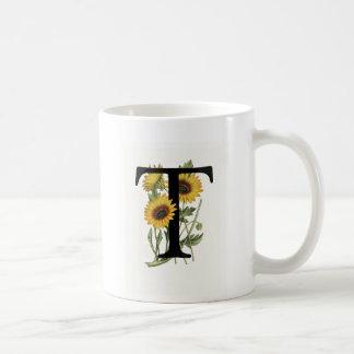 Monogram Daisy T Mug