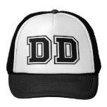 Monogram 'DD' initials Cap