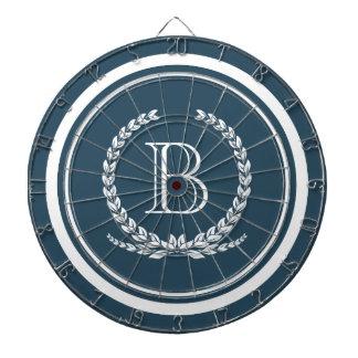 Monogram design dartboard