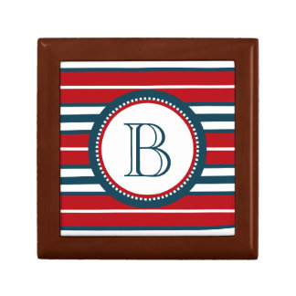 Monogram design gift box
