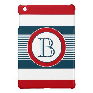 Monogram design iPad mini covers