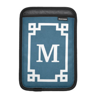 Monogram design iPad mini sleeve