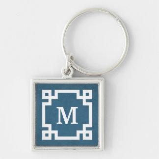 Monogram design key ring