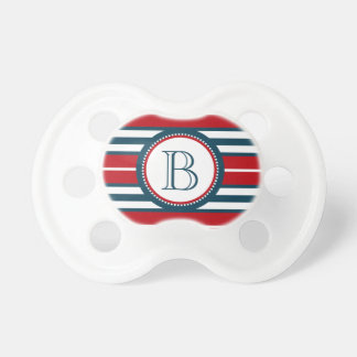 Monogram design pacifier
