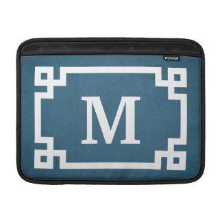 Monogram design sleeve for MacBook air