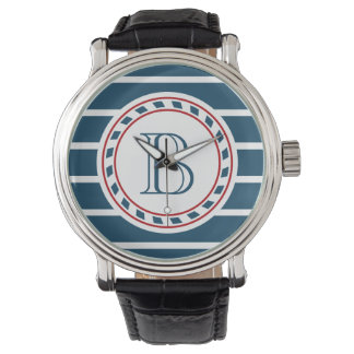 Monogram design wrist watches