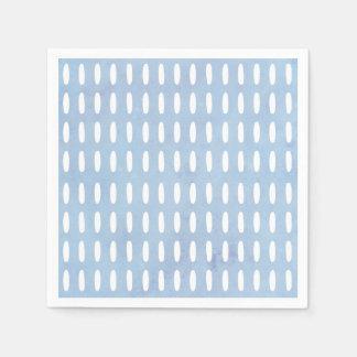 Monogram drop pattern napkin paper serviettes