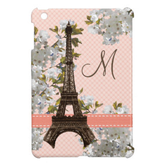 Monogram Eiffel Tower iPad Mini Covers