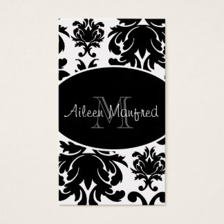 Monogram Elegant Business Cards