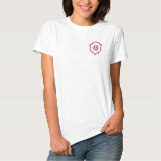 Monogram Embroidered Shirt Business Name club