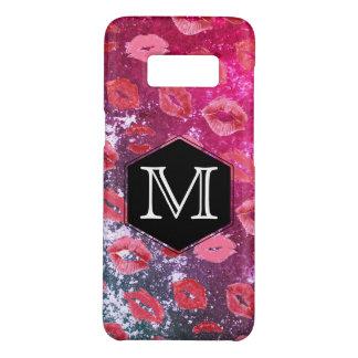 Monogram Expressive Rustic / Kiss Pattern Case-Mate Samsung Galaxy S8 Case