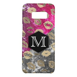 Monogram Expressive Two Tone Rustic / Kiss Pattern Case-Mate Samsung Galaxy S8 Case