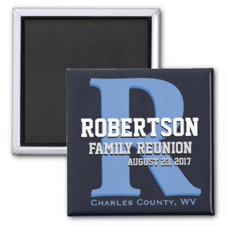 Monogram Family Reunion Magnet