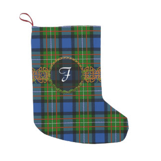 Monogram Fergusson Tartan Small Christmas Stocking