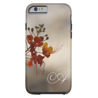 Monogram Floral Photo iPhone 6 case