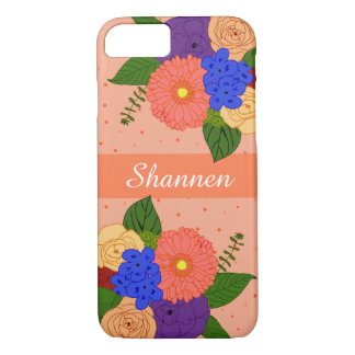 Monogram Flower Bouquet iPhone Case