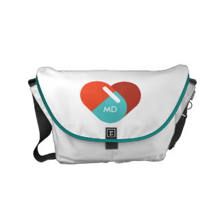 Monogram. For Doctors and Nurses. Heart Capsules. Commuter Bags
