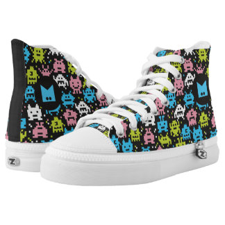 Monogram. For Doctors and Nurses. Monster Germs. High Tops