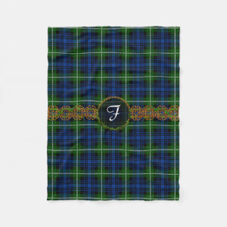 Monogram Forbes Tartan Fleece Blanket