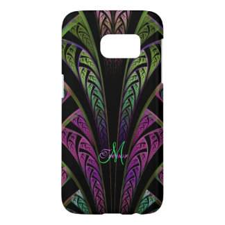 Monogram Fractal Weave Galaxy S7 Case