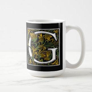 Monogram G Color Mug