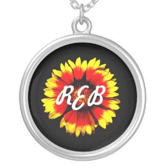 monogram galardia custom necklace