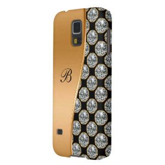 Monogram Galaxy S5 Bling Case