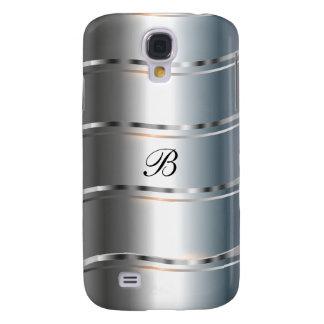 Monogram Galaxy S5 Case Metal Look