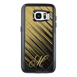 Monogram Gold Ray of Light OtterBox Samsung Galaxy S7 Edge Case