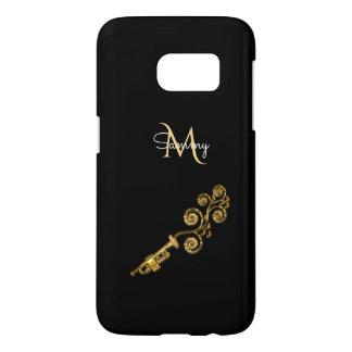 Monogram Gold Trumpet