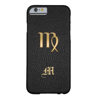 Monogram Gold Zodiac Sign Virgo iPhone 6 Case
