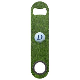 Monogram Golf Ball Bottle Opener for Golfing Dad