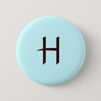 Monogram H Button