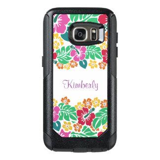 Monogram Hawaiian Style OtterBox Samsung Galaxy S7 Case