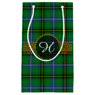 Monogram Henderson Tartan Small Gift Bag
