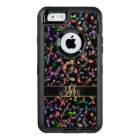 Monogram Hot Jazz Music Notes Otterbox Case