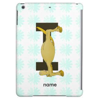 Monogram I Flexible Horse Personalised iPad Air Case